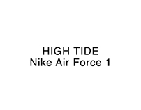High Tide Nike Air Force 1