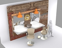 Barbershop-Hairdress 3d Model