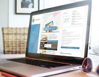 School website redesign