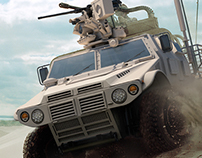 Military CG Vehicle Renders