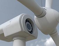 3D Wind Turbine / Cranes