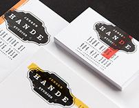 Jensen Hande Studios Branding
