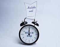 Beach Bar – Clock/Reservation