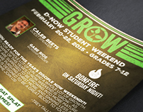 Grow Student Weekend Event