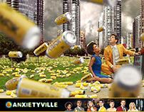Anxietyville – Visual Identity