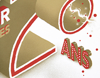 20 ans AGR / Affiche & Flyer