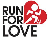 Run For Love Logo Design