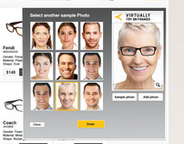 Blink Optical: Virtual-Try-On Application