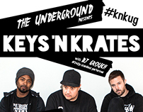 Keys N Krates @ The Underground Promo Material