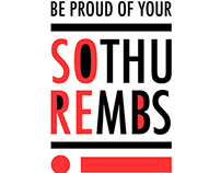 Sore Thumbs logo and shirt design