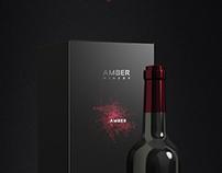 Amber - Wine label