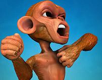 Bazooka the Monkey