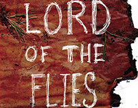Lord Of The Flies Book Design and Collateral