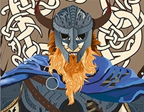 Viking. Illustration