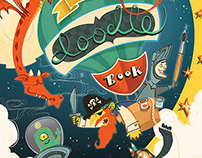 Boys Doodle Book Cover
