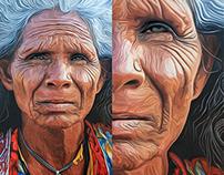Kushali - Oil Painting