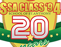 SSA 20 Year Reunion Mug / Shirt Design