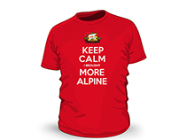 Alpine Lager T-Shirt Designs
