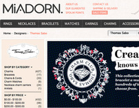 Miadorn eCommerce Jewellery Store