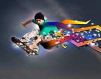 Design-A-Real Skateboard Ad