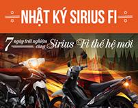 Sirius FI Microsite Design