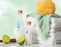 Detendue Spa Creams Branding