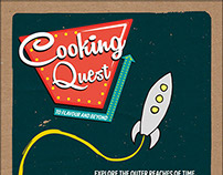 Cooking Quest - Retro Boardgame