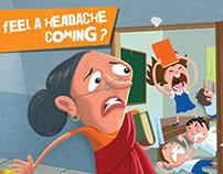 Amrutanjan - Feel a headache coming?