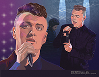 Illustration of Sam Smith