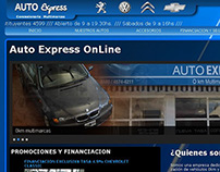 Web - Concesionaria Autoexpress