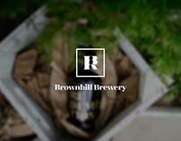 Brownhill Brewery Branding