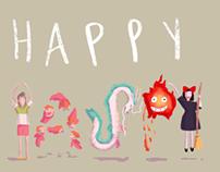 HAPPY BIRTHDAY HAYAO MIYAZAKI!
