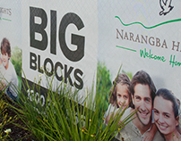 Property Signs Promoting Narangba Heights