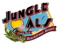 Jungle Als Logo, Poster, Brochure and Website