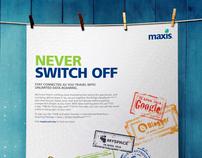 Maxis Data Bridge Roaming