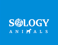 Logotype.  Site. SOLOGY ANIMALS