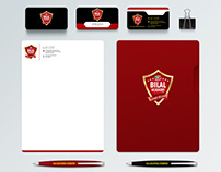 Bilal Academy Stationary and Branding