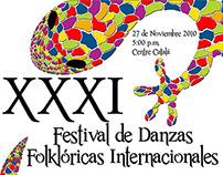 Posters Festival de Danzas Folklóricas Internacionales