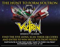 The Hunt to Form Voltron: QR Code Scavenger Hunt