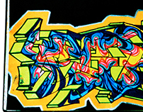 Black Book Graffiti - WildStyle (2 views)