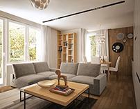 Small rental apartment design
