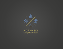 Logo for Christmas decorations company