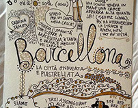 Appunti di viaggio: Barcellona. Barcellona Travel Book