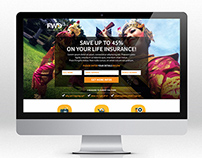 FWD insurance company - Landing page