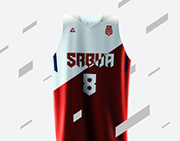 2015 Serbia basketball uniforms