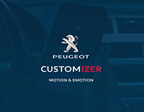 Customizer - AR APP para Peugeot
