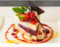 Landing page for pastry-shop Brownieville