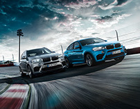 Postproduction BMW X5M & X6M