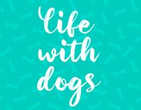 Ilustração - Life with dogs
