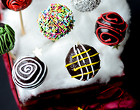 Food photography/X-mas Cake Pops
